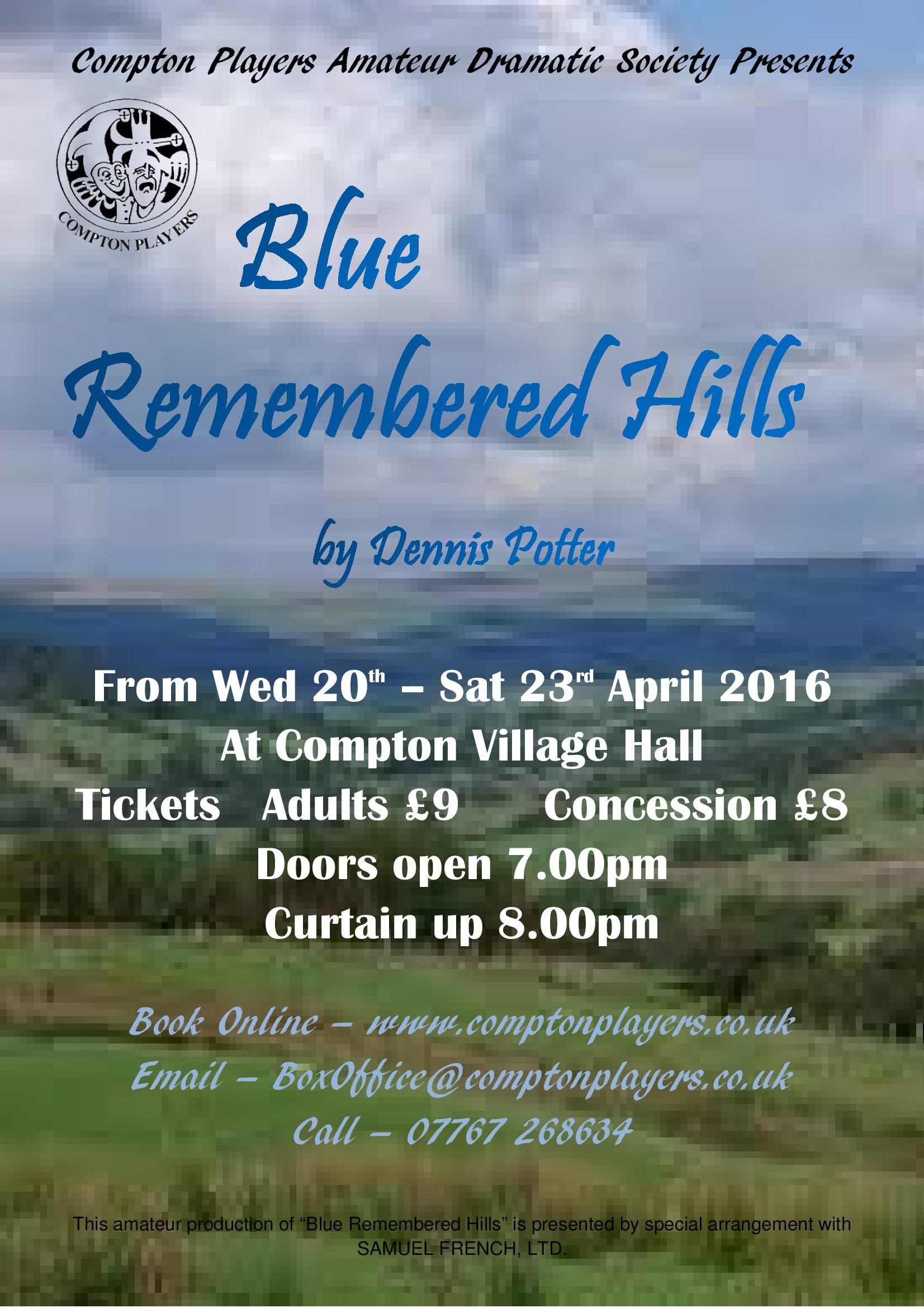 a shropshire lad blue remembered hills