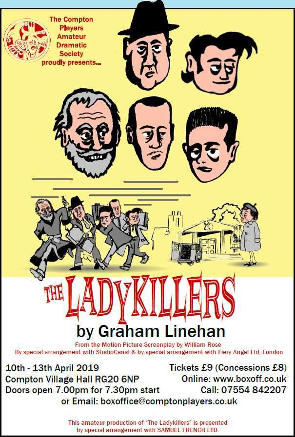 The Ladykillers 10th to 13th April